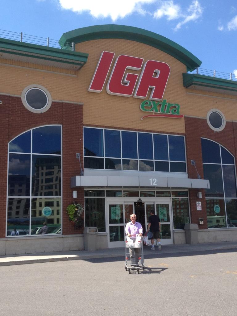IGA extra au Québec