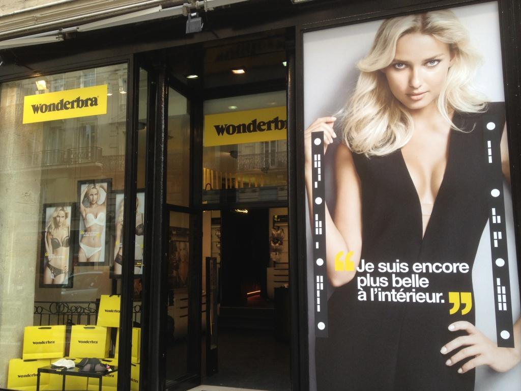 Boutique éphémère Wonderbra
