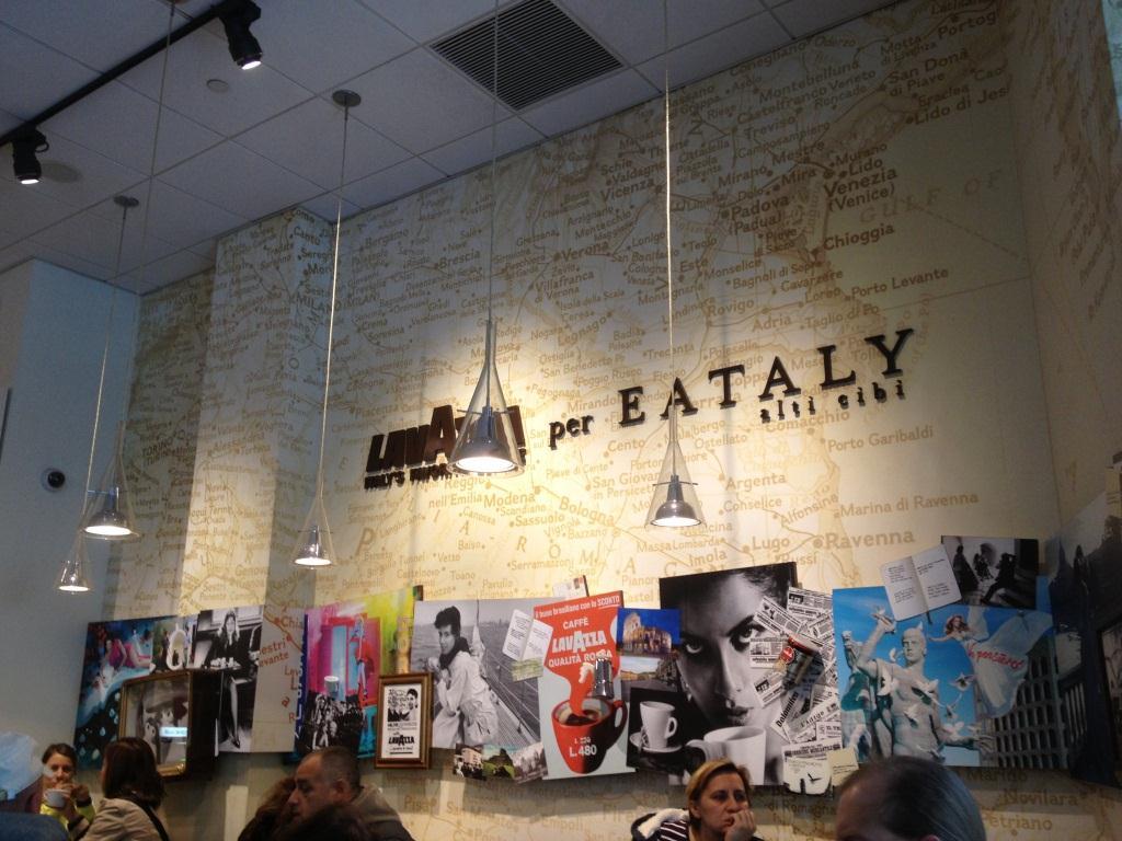 Eataly New York – focus sur les univers produits