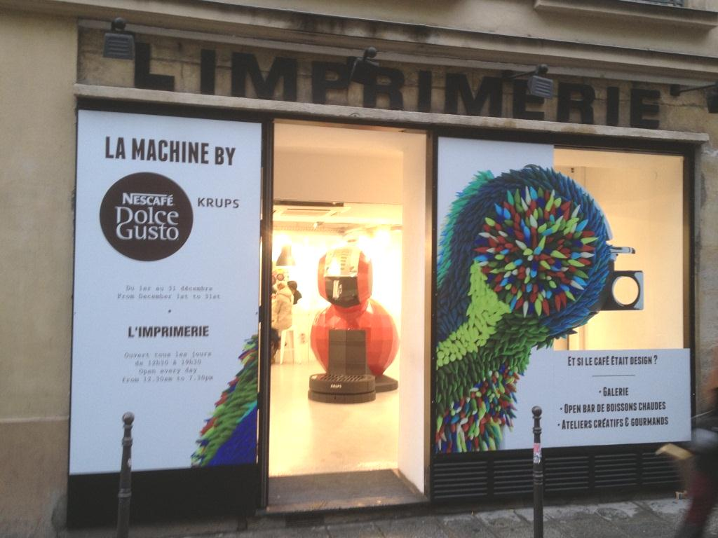 Dolce Gusto à l'Imprimerie Paris
