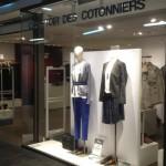 Comptoir des Cotonniers opération Essie vitrine - Focus Shopper