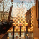 Boutique Maille Paris vitrine collection printemps - Focus Shopper