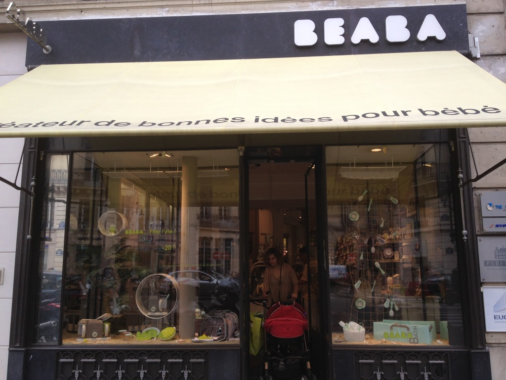 Flagship Béaba Paris