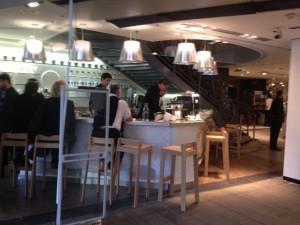 Lafayette Gourmet café Cuiller - Focus Shopper