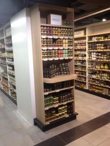 Lafayette Gourmet détail espace épicerie - Focus Shopper