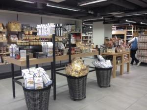 Lafayette Gourmet espace épicerie - Focus Shopper