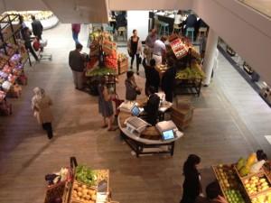 Lafayette Gourmet espace marché - Focus Shopper