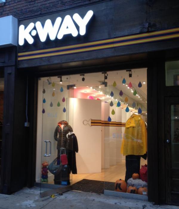 K-Way à New York