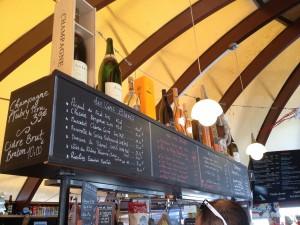 Bulle Cafe Arcs 2000 carte des vins - Focus Shopper