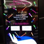 Sephora Beaugrenelle distributeur etape 2 - Focus Shopper