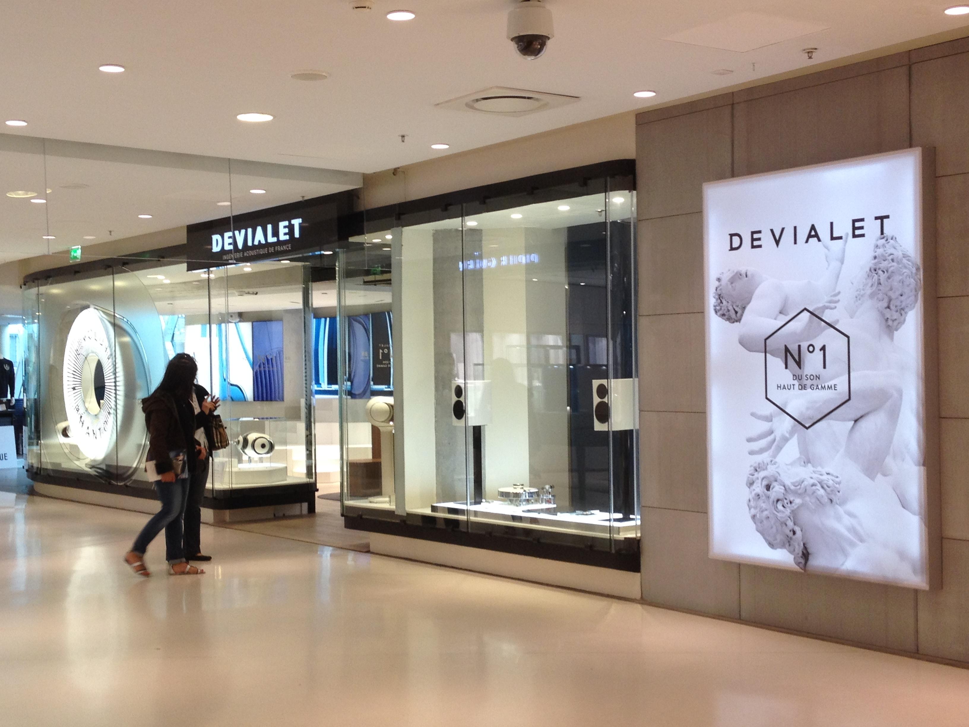 Boutique Devialet à Beaugrenelle