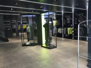 Boutique Descente Londres valorisation produits - Focus Shopper