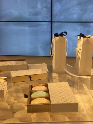 Les savons customisés de la boutique éphémère Dove