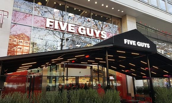 Restaurant Five Guys Champs Elysées