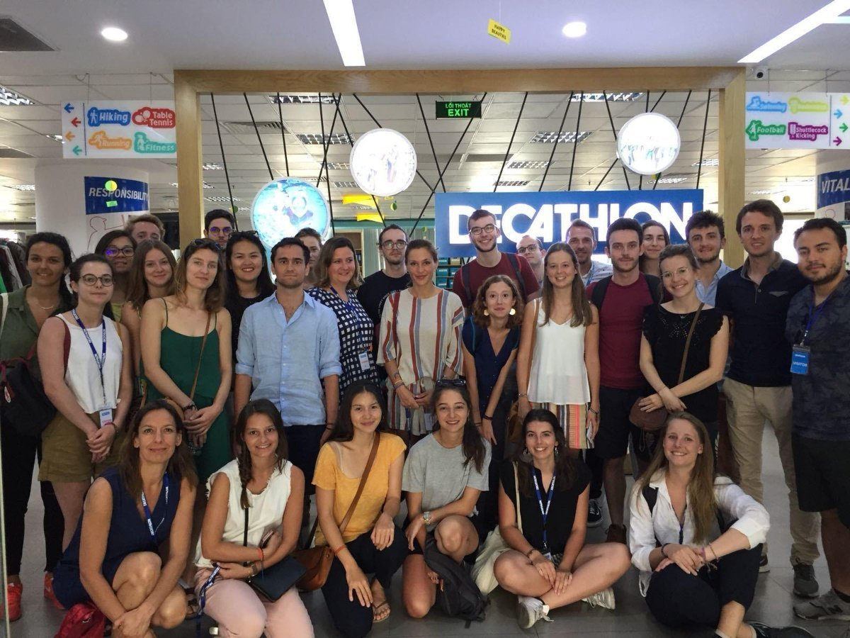 Interview du leader marché Décathlon Vietnam