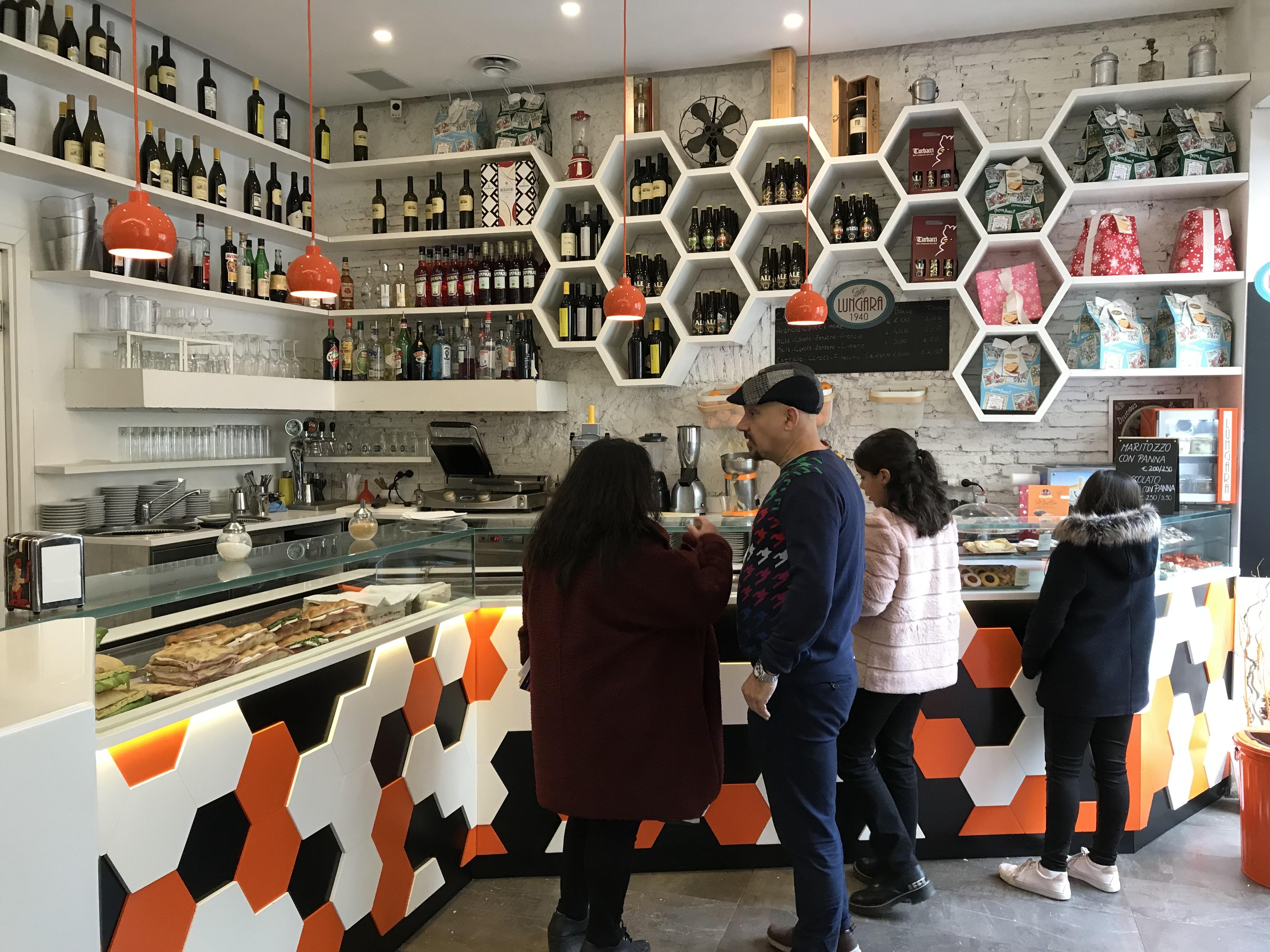 Retail tour Rome – café et restaurant